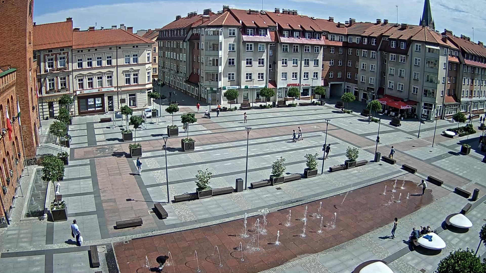 Widok na Plac Wolności